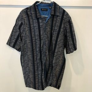 Just Reduced! Jhane Barnes short sleeve button up